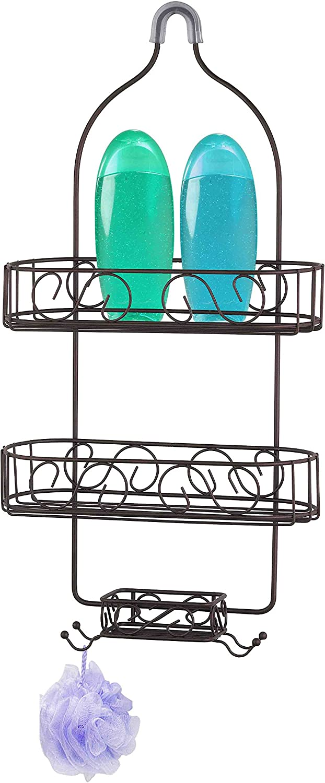 Home Basics SC10659 Bronze Shower Caddy
