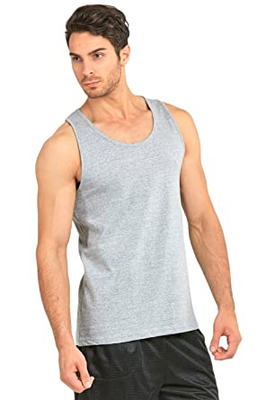 57c67e9b01 Amazon.com: Knocker Men's Cotton Relaxed Fit Tank Top: Clothing
