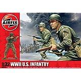 Airfix - WWII U.S. Infantry, set de figuras (Hornby A02703)