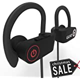 Bluetooth Headphones, Best Wireless Earbuds with Microphone Workout Headphones Running Headphones Sport Headphones Sweatproof HD Stereo Earphones Noise Cancelling Headsets best gift ULKO