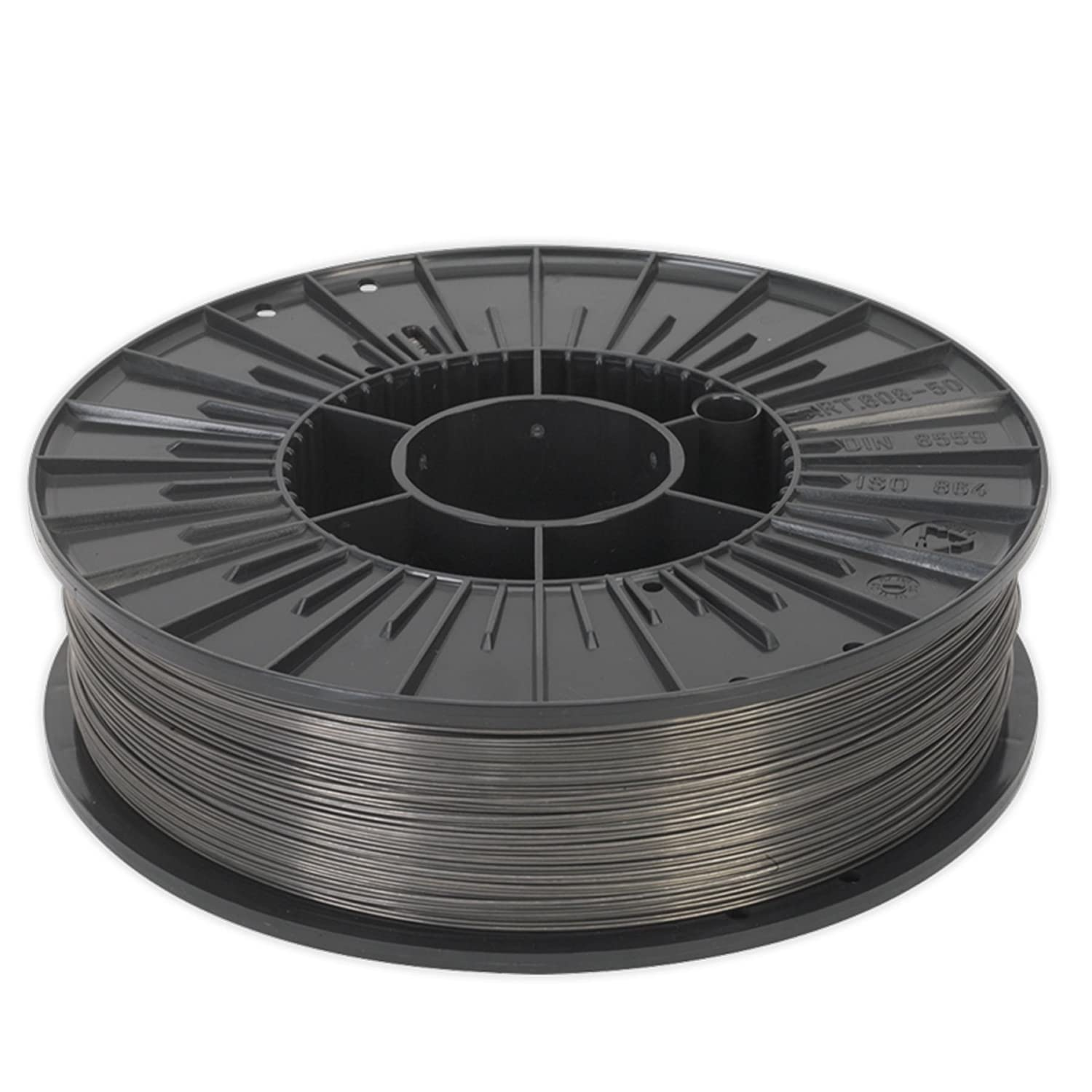 Sealey E71T-GS Flux Cored MIG Wire 0.45kg 0.9mm A5.20 Class Use With MIG Welders Bitec
