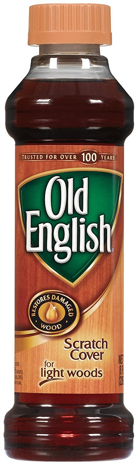 Old English Scratch Cover For Light Woods, 8 fl oz Bottle, Wood Polish (Pack of 6) by Old English