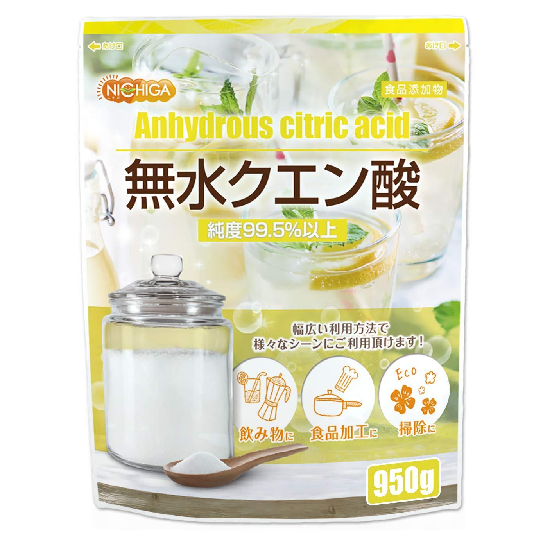 無水クエン酸 950g 食品添加物規格(食品) 純度99.5% 以上 [01] NICHIGA(ニチガ) product image