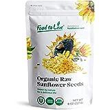 Organic Sunflower Seeds, 8 Ounces - Kernels, Non-GMO, Kosher, Raw, No Shell, Vegan, Sirtfood, Bulk
