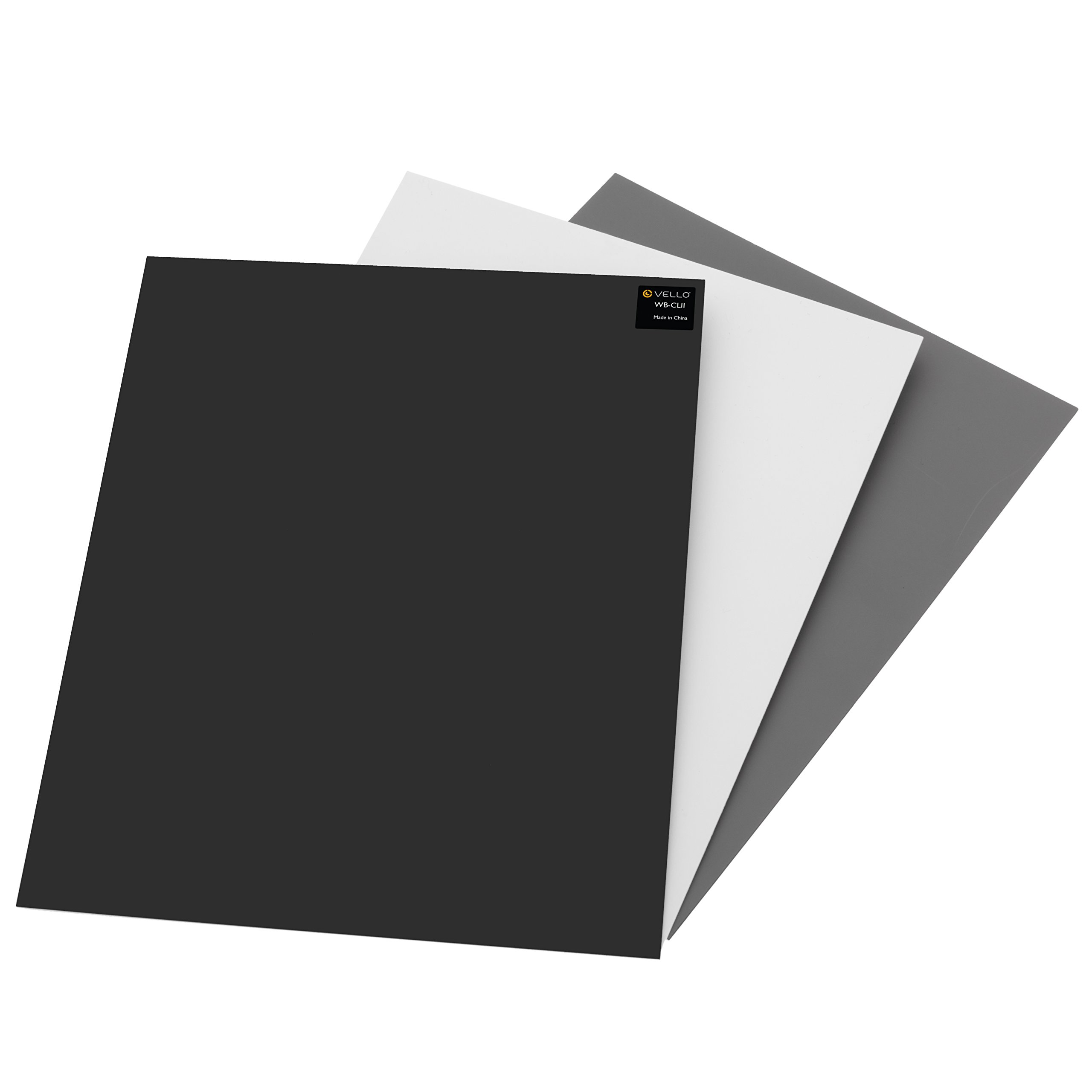 Vello White Balance Card Set (Large) by VELLO