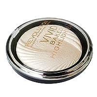 Makeup Revolution, illuminante Vivid Baked Highlighter, Oro(Golden Lights), 7.5 g