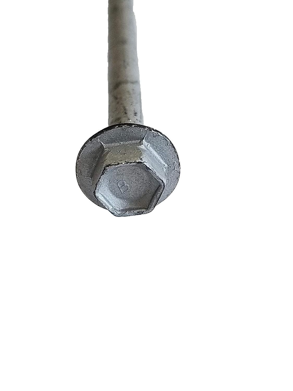External Hex Flange Hex-Head Self-Drilling Screws 50pc TEKS #14 1-1//2 in NEW!