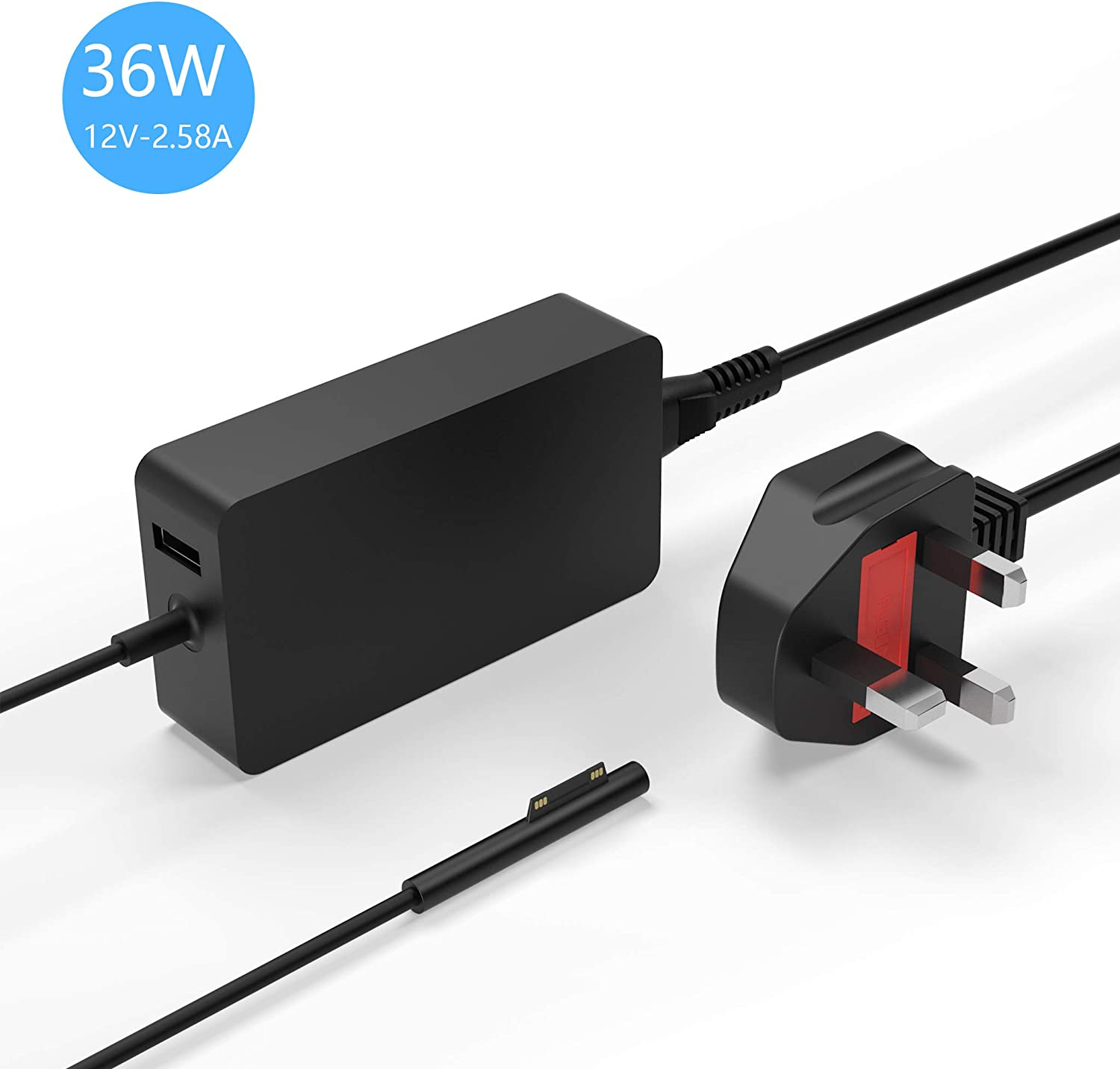 windows surface pro charger