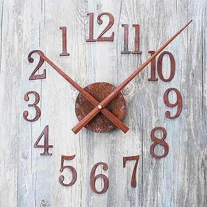 LIU-La manera creativa el reloj digital de retro para hacer el óxido de edad