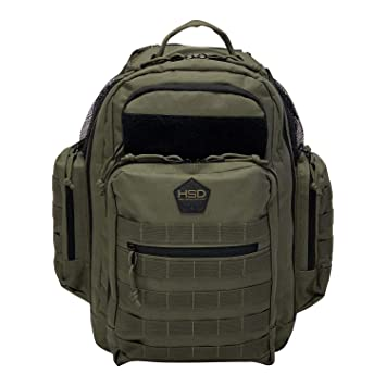 286ce99b7f34 Diaper Bag Backpack, HSD Multifunction Waterproof Large Tactical Daddy  Travel Backpack for Men +...