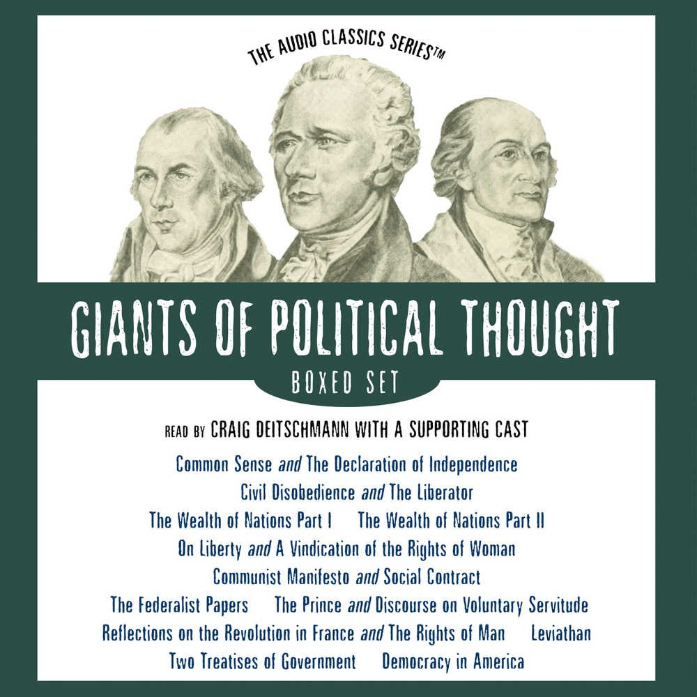 Giants of Political Thought Series (Audio Classics) by Blackstone Audio Inc.