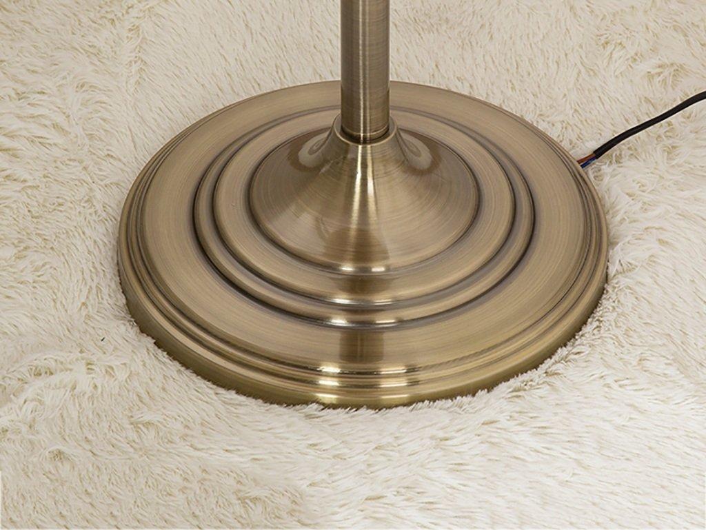 Stehlampen Stehlampe im europ/äischen Stil Wohnzimmer Retro Stehlampe//Antik Kupfer Stehlampe//Retro Studie Metall Stehleuchte Stehlampe Schlafzimmer