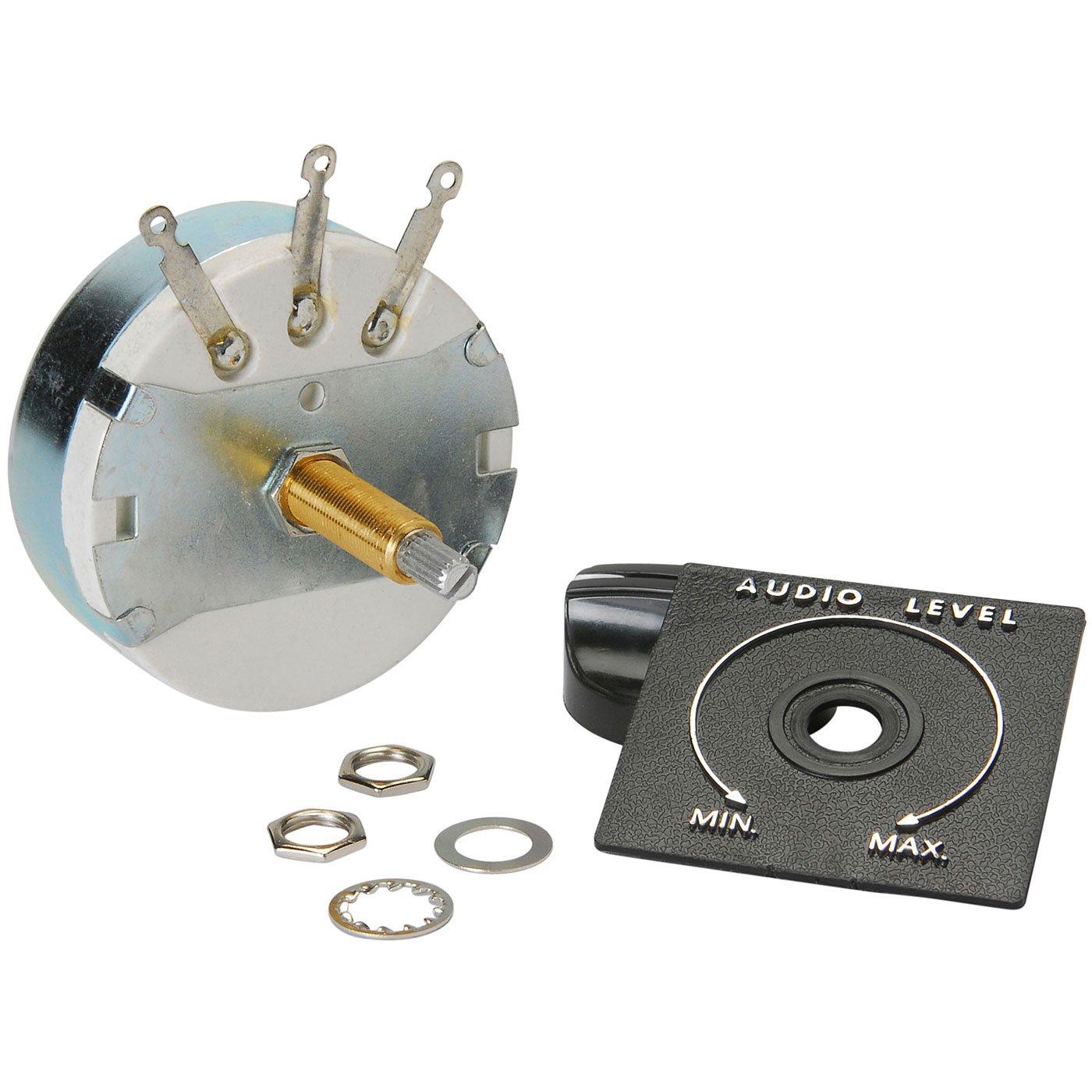 Parts Express Speaker L-Pad Attenuator 100W Mono 1 Shaft 8 Ohm
