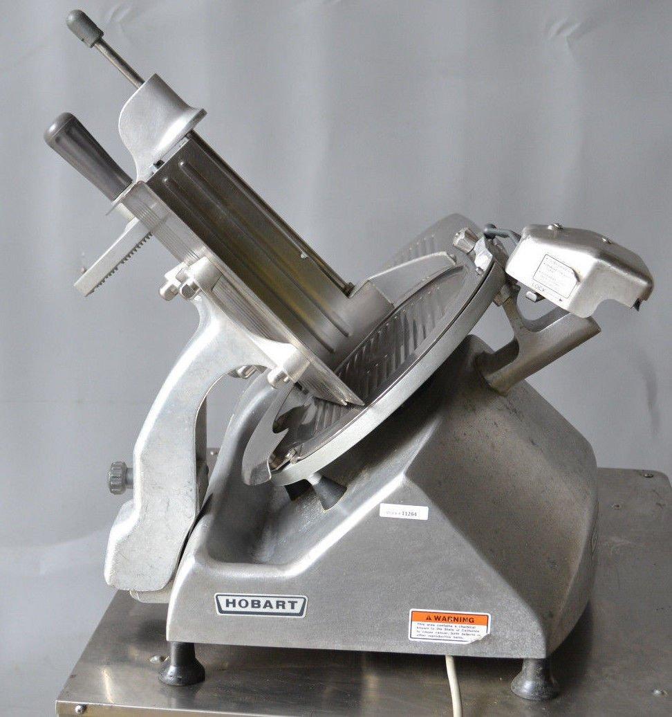 "Amazon. Com: hobart 2612 heavy duty 12"" basic manual slicer."