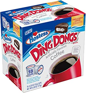 product image for Hostess Brand Flavored Single Serve Coffee Cups (Ding Dongs)