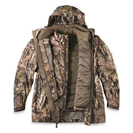 cdb06847fb4a6 Bolderton Men's Outlands All-Climate Series 3-Piece Parka System, Mossy Oak  Country
