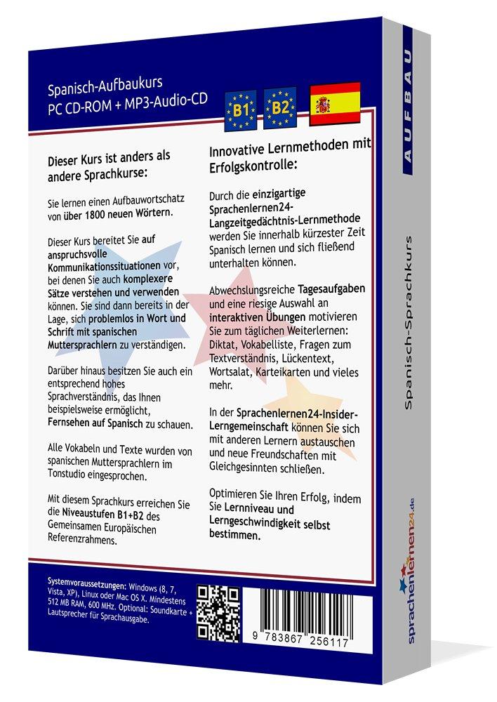 Spanisch-Aufbaukurs: Lernstufen B1+B2. Lernsoftware auf CD-ROM + MP3 ...