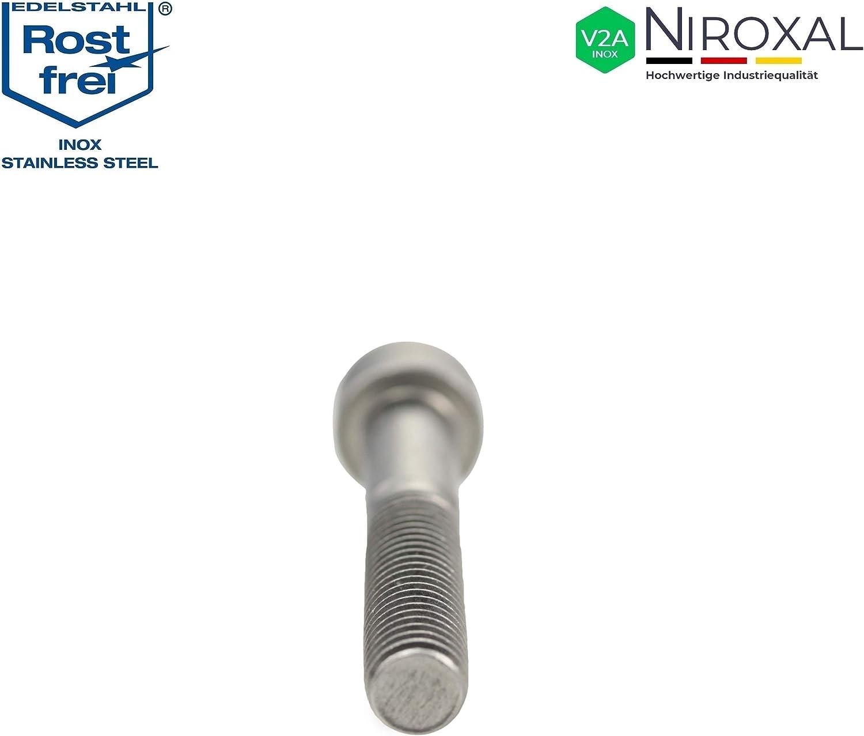 Cilindro tornillos con hexágono interior ISO 4762 acero inoxidable a2-70 m 5