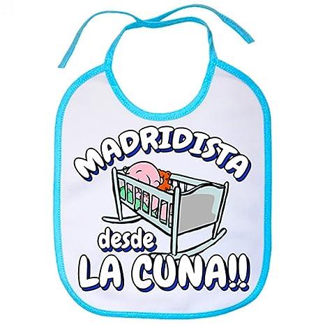 Babero Madridista desde la cuna Merengue Madrid fútbol ...