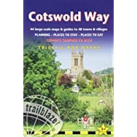 Cotswold Way: 44 Large-Scale Walking Maps & Guides to 48 Towns and Villages Planning, Places to Stay, Places to Eat - Chipping Campden to Bath