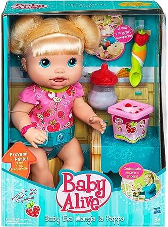 navegar por las últimas colecciones precio inmejorable venta al por mayor Amazon.es: Hasbro Baby Eva - Muñeca Que Come Papilla ...
