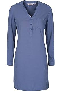 Mountain Warehouse Idris gestreifter Damen-Fleecepullover mit halbem
