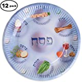 Paper plates for Passover, Paper Seder Plates, Passvoer plates for kids