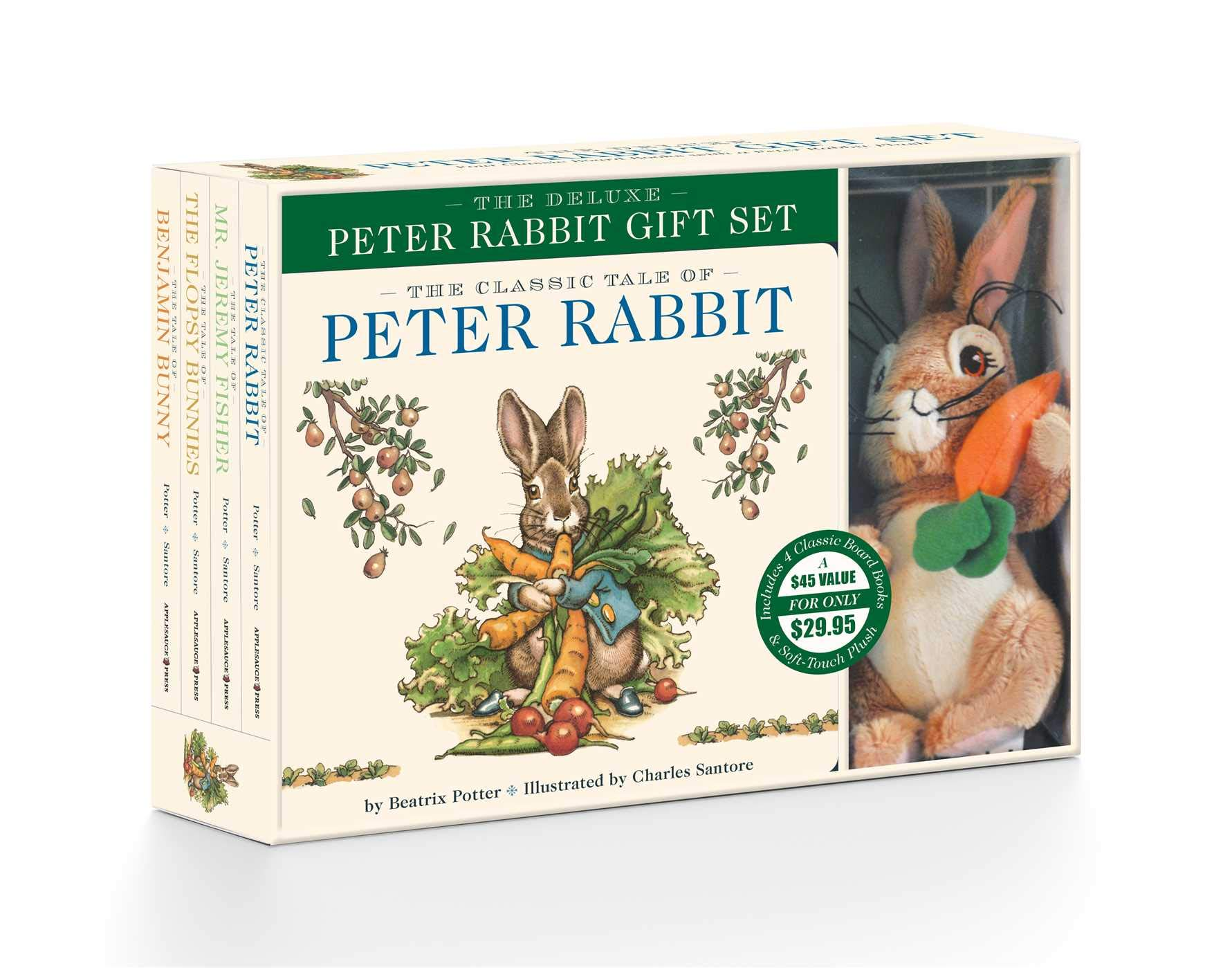The Peter Rabbit Gift Set Including a Classic Board Book and Peter Rabbit Plush