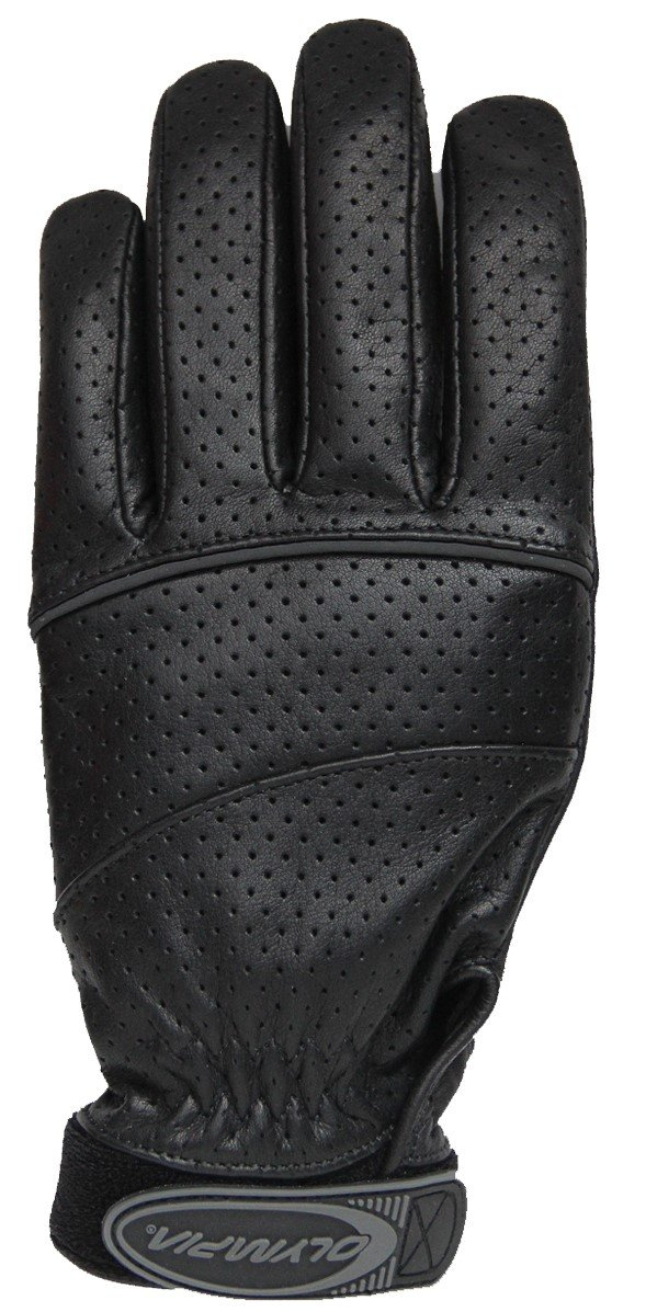 Olympia Sports Men's Stealth Gloves (Black, Large)