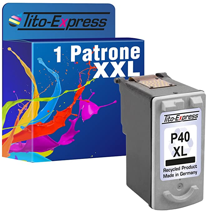 1 tinta para Canon PG-40 X L Black PIXMA iP2200 MP150 MP160 MP170 ...