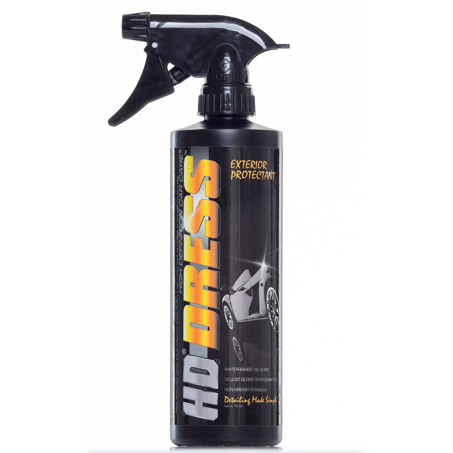 3D HD Dress - 16oz - Tire & Plastic Dressing - Tyre Shine 3D High Definition Car Care 429OZ16