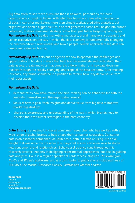 Humanizing big data marketing at the meeting of data social humanizing big data marketing at the meeting of data social science and consumer insight livros na amazon brasil 9780749472115 fandeluxe Choice Image