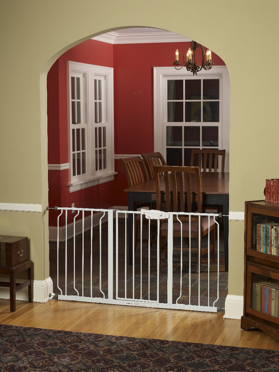 Gate Walk Through Extra Wide Baby Child Pet Dog Safety