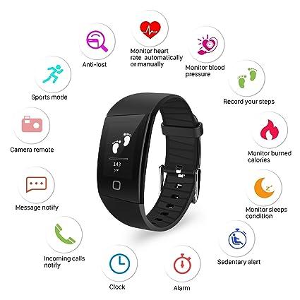 Uhren Digitale Uhren Sanda Luxus Smart Uhr Ip67 Wasserdicht Heart Rate Monitor Blutdruck Fitness Tracker Männer Frauen Smartwatch Für Ios Android Starke Verpackung