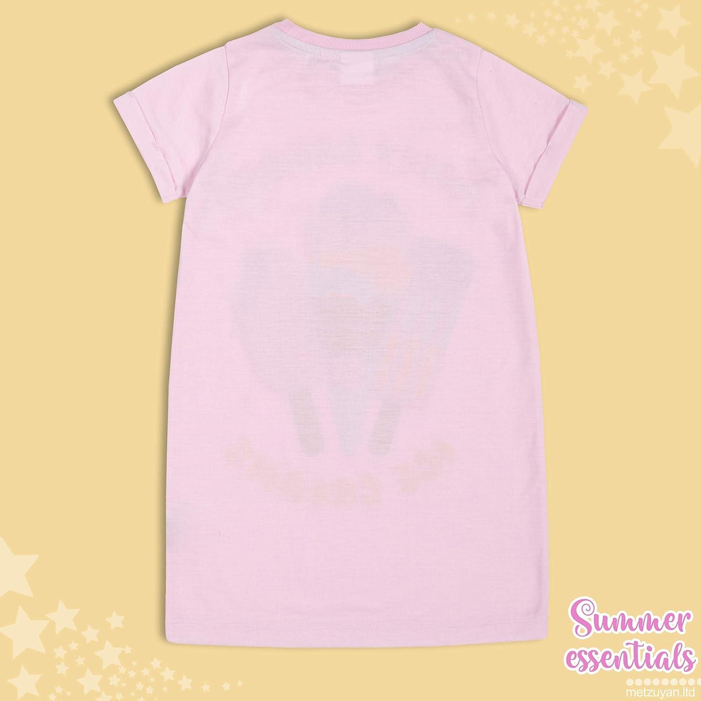 Metzuyan Kids Girls Summer Short Sleeved Nightie Nightdress Mermaid Size 2-6 Years