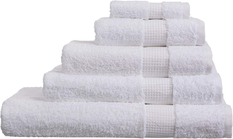 Toallas de algod/ón Egipcio Blanco 700 g//m/² Olivia Rocco XL Bath Sheet