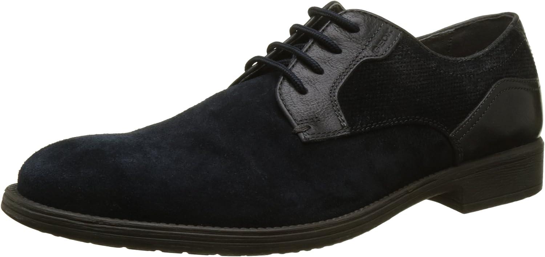 TALLA 42 EU. Geox U Jaylon E, Zapatos de Cordones Derby para Hombre