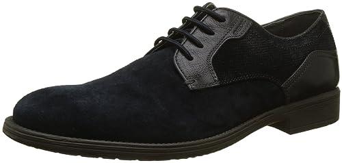Geox U Jaylon E, Zapatos de Cordones Derby para Hombre