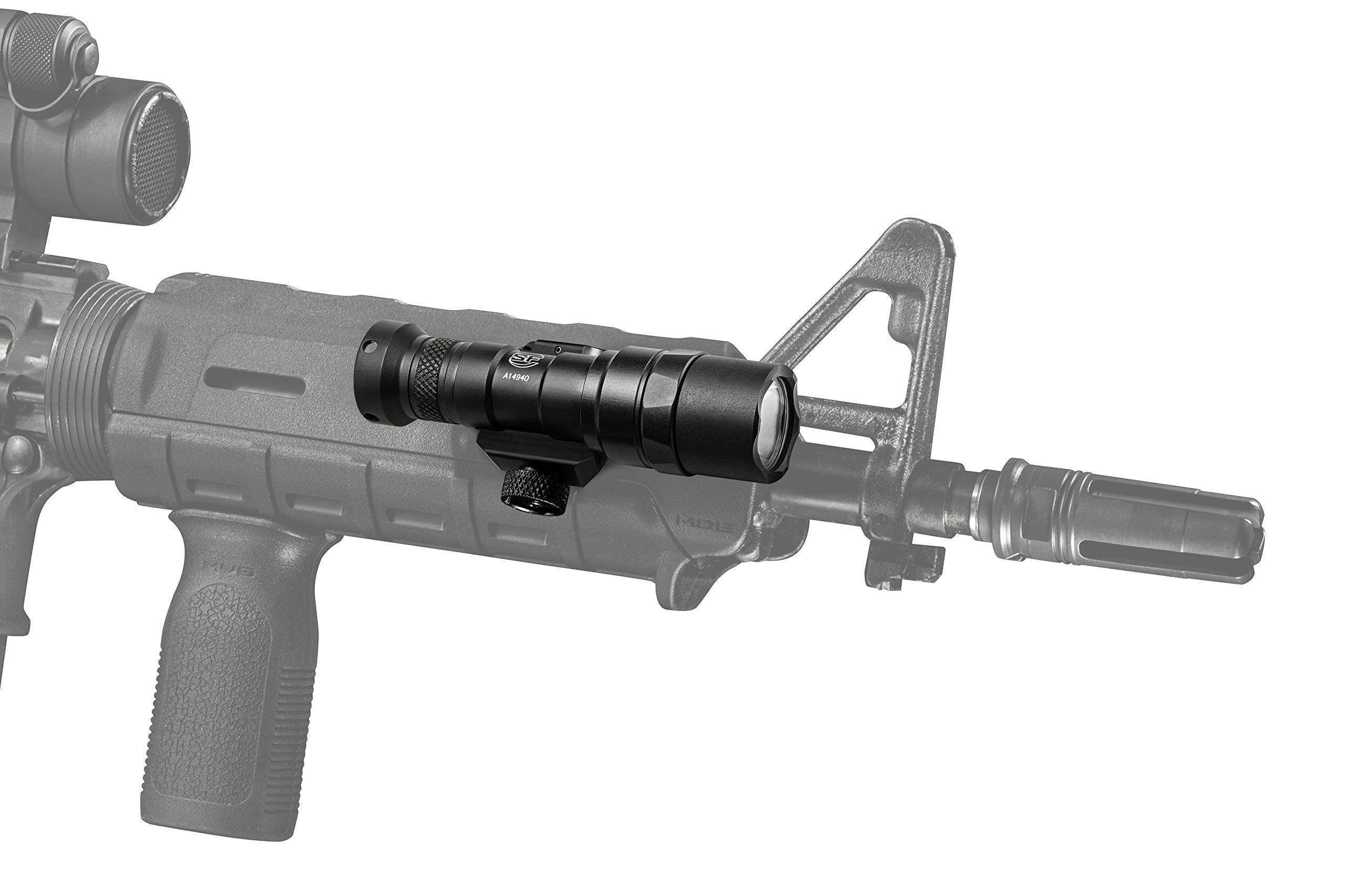 SureFire M300 Mini Scout M300 Mini Scout Light w/Z68 Click-Type tailcap pushbutton Switch, Black, Black by SureFire (Image #4)