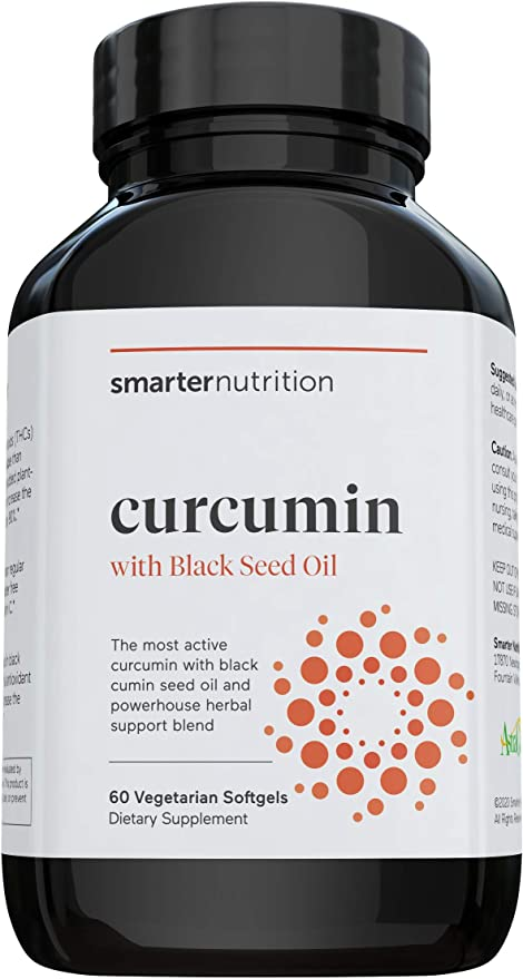 Smarter Nutrition herbal supplements - Tetra-Hydro Curcuminoids