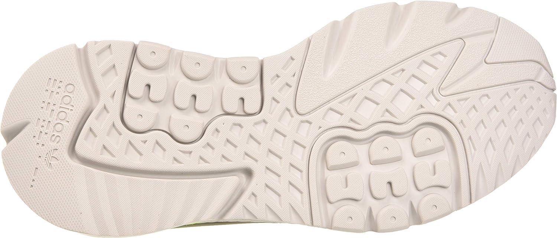 Adidas Herren Nite Jogger Laufschuh, Schwarz Grau ein F17 Grau Zwei F17 Signal Grün