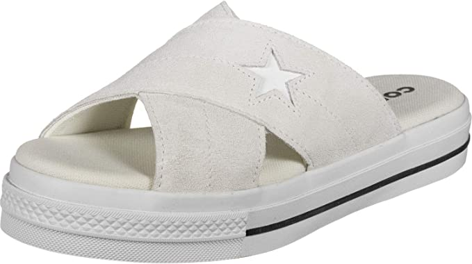 : Converse One Star Womens Sandals White: Shoes