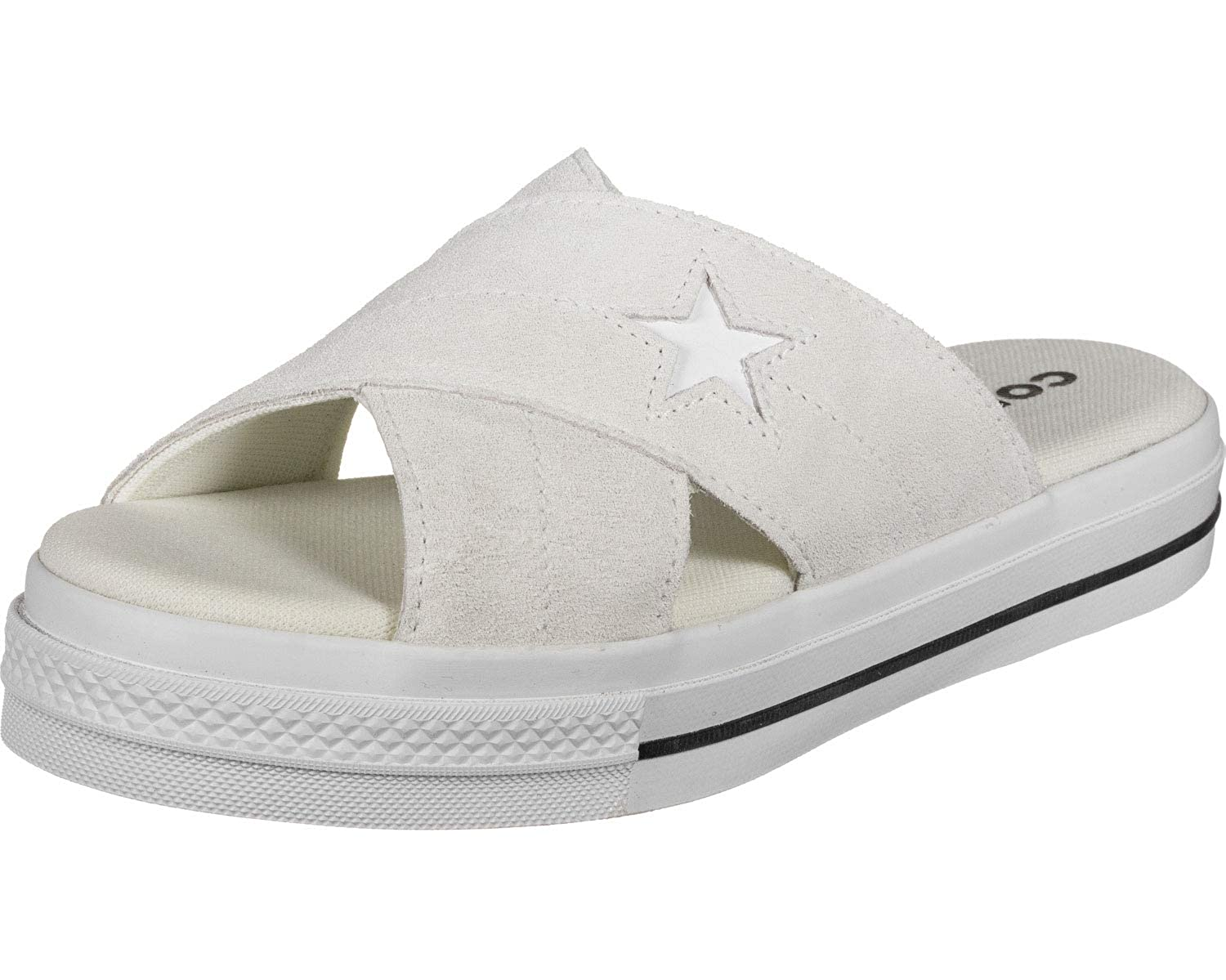Converse One Star Womens Sandals White