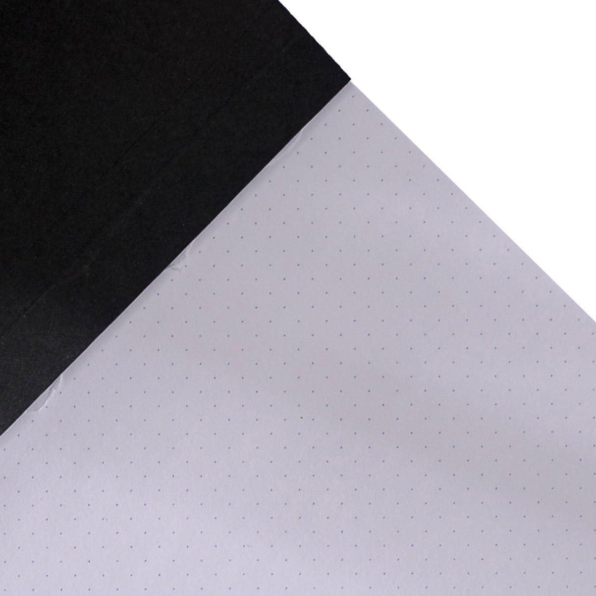 (6 x 8 Dots, Assorted Colors) - Clairefontaine GraF it Sketch Pad, 90 g Paper, 15cm x 21cm, Dot Grid