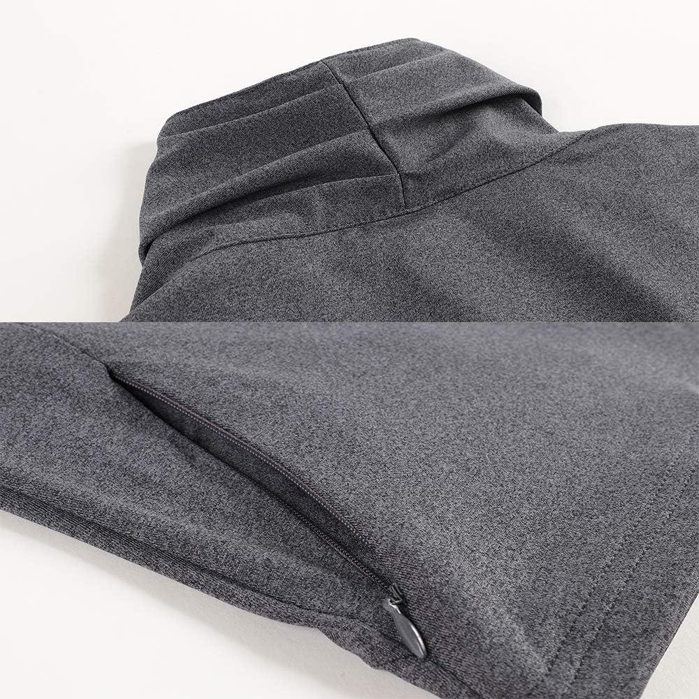 RainbowTree Women/'s Sweatshirts Slim Fit Lightweight Full Zip Girl Yoga Workout Running Jacket Coat with Two Side Pocket