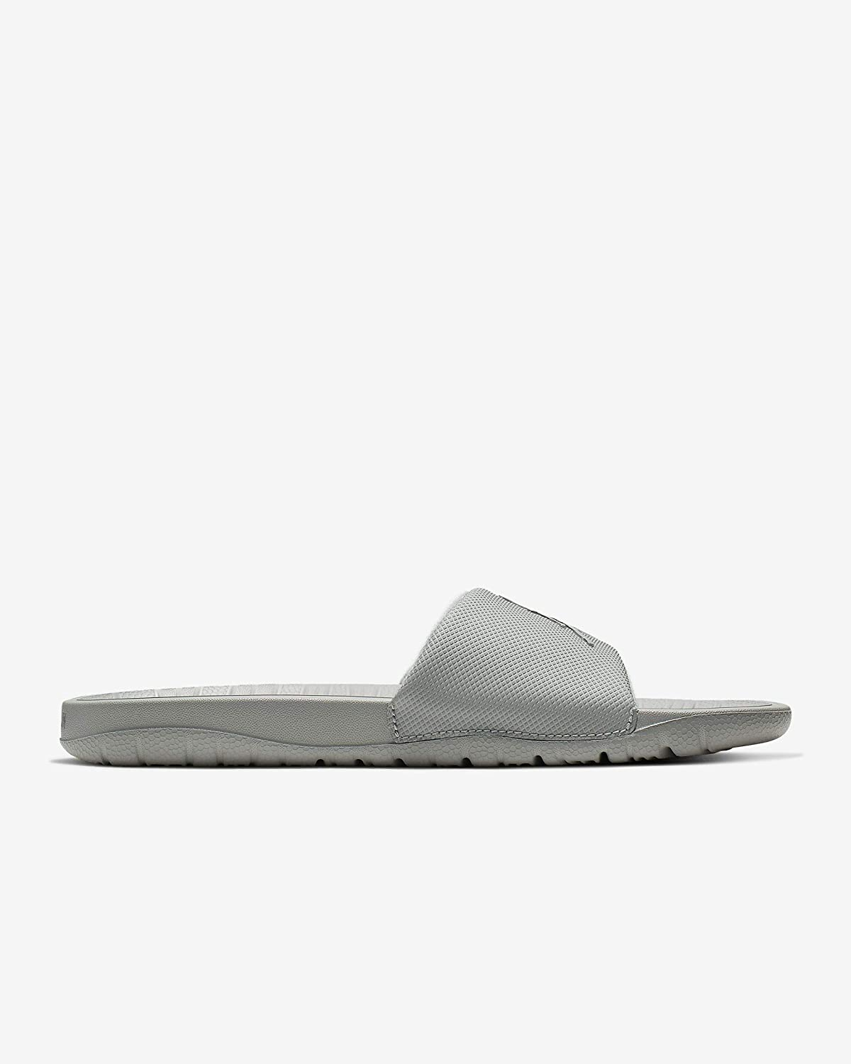 Mens Light Smoke Grey//Metallic Silver Break Slides Jordan AR6374-002