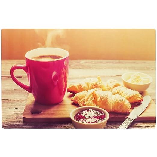 Promobo – Juego de mesa desayuno Design Gourmand creciente taza a ...