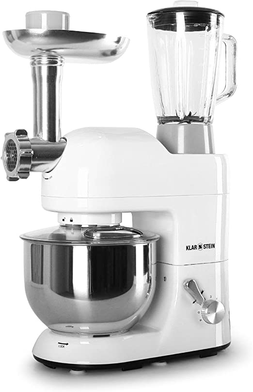 Klarstein Lucia Bianca 1200W 5L Blanco - Robot de cocina (5 L ...