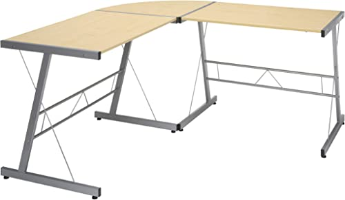 OFM ESS Collection Metal Frame L-Shaped - the best modern office desk for the money