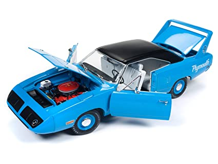 amazon com 1970 plymouth superbird petty blue with black top 50th